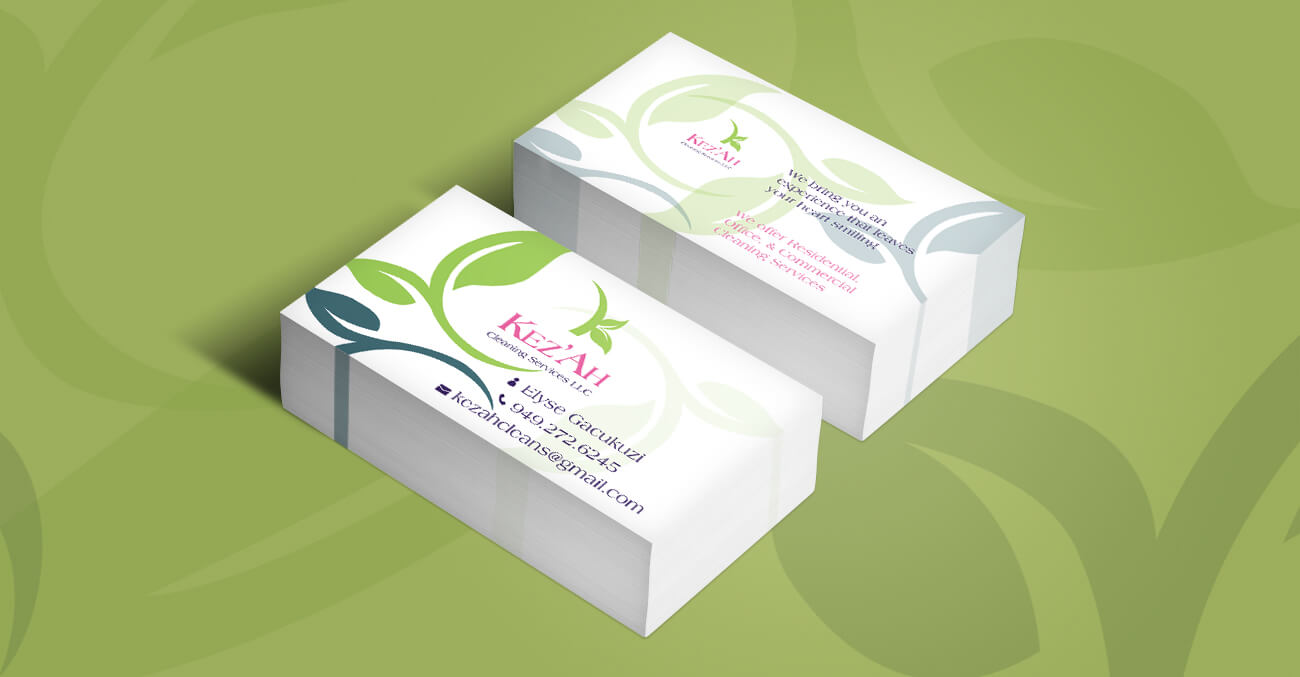 kezah-business-cards