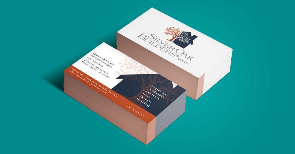 silver-oak-business-cards-portfolio